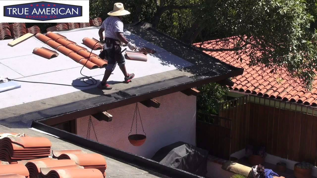 How To Install Torch Down For Built In Gutter System Palos