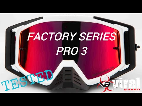 VIRAL BRAND FACTORY SERIES PRO 3 GOGGLE REVIEW