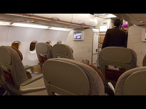 Etihad Business Class A320 ✈ Colombo to Abu Dhabi EY263