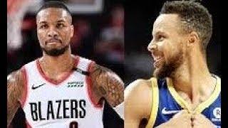 Golden State Warriors vs Portland Trailblazers_Game 3_NBA Playoffs 19 May 2019