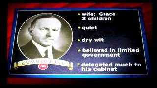 The Presidents: Number 30: Calvin Coolidge
