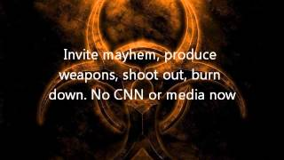 pantera, war nerve lyrics