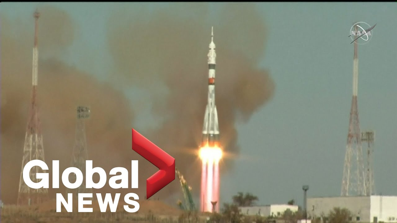 US-Russia crew successfully launches to ISS using a fast-track maneuver