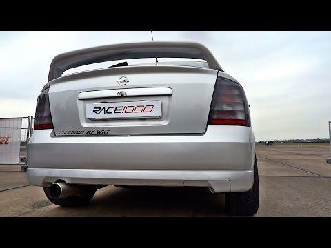 700hp Opel Astra WKT Turbo Acceleration