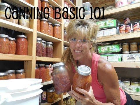 Canning 101: Basics For The New Homesteader