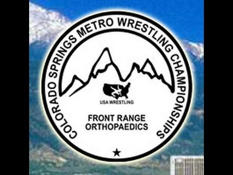 2013 Colorado Springs Metro Wrestling Championships (SF - Placement Matches) - Camera #1