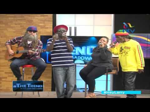 Jamaica's Wailing Souls perform LIVE on the #theTrend