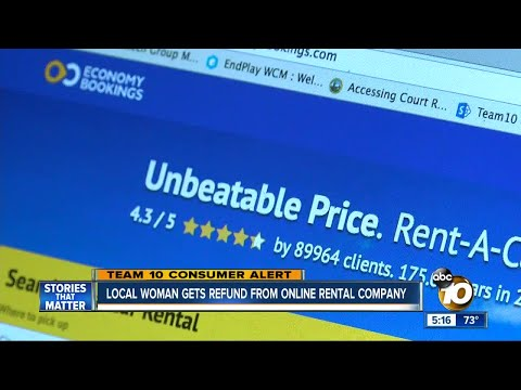 South Bay woman gets refund from online rental company
