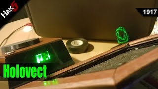 3D Projections from the Holovect Volumetric Display - Hak5 1917(Shop: http://www.hakshop.com Support: http://www.patreon.com/threatwire Subscribe: http://www.youtube.com/hak5 Our Site: http://www.hak5.org Contact Us: ..., 2015-12-21T23:46:01.000Z)
