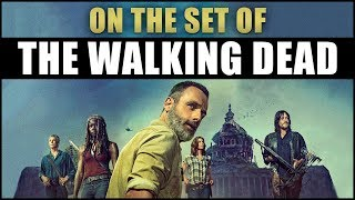 I Visited The Walking Dead Set!