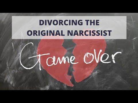 Divorcing the original narcissist