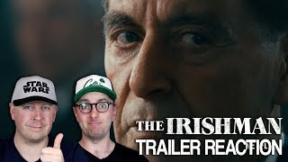 The Irishman Official Trailer Reaction and Thoughts