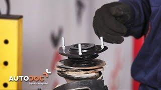 Cómo cambiar copelas del amortiguador TOYOTA YARIS XP10 INSTRUCCIÓN | AUTODOC