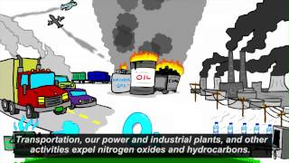 This UCARConnect animation explains what ground-level ozone is, how...