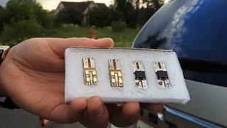 Светодиодная LED лампа (плата) в плафон багажника нового Рено Дастер