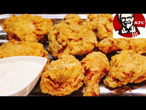 💯 ORIGINAL KFC FRIED CHICKEN SECRET RECIPE WITH GARLIC SAUCE