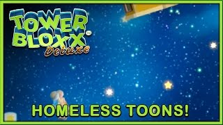 Tower Bloxx Deluxe (PC) Space toons chasing bloxx