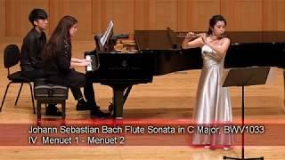 J.S.Bach Flute Sonata in C Major,BWV1033
