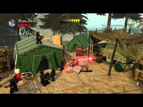 Arrow DLC Pack Free Play Walkthrough All Minikits in LEGO Batman 3: Beyond Gotham