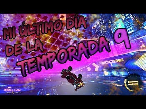 ¡¡MI ÚLTIMO DÍA DE LA TEMPORADA 9 CON UN PARTIDÓN!! ~ ROCKET LEAGUE thumbnail