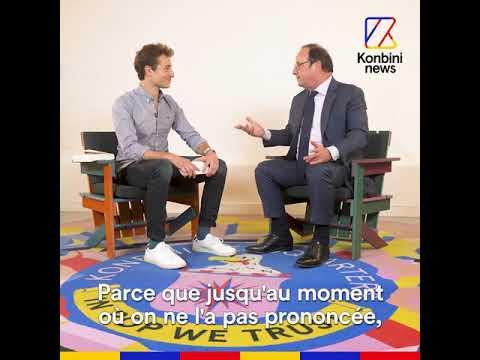 François Hollande répond aux questions d'Hugo Clément