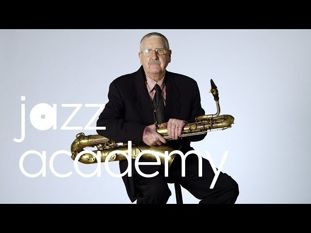 Joe Temperley's Baritone Sax Warm-Up, Part 1