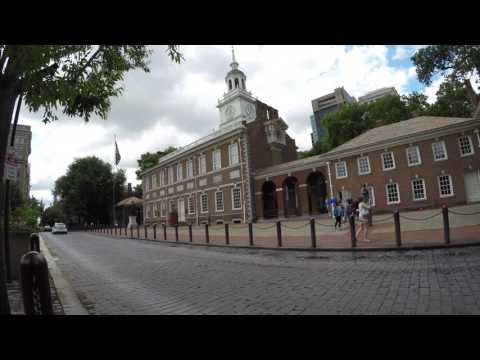 Independence Mall Visit (Liberty Bell and National Constitution Center)