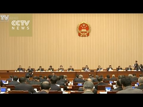 China lawmakers review draft laws including anti-terrorism