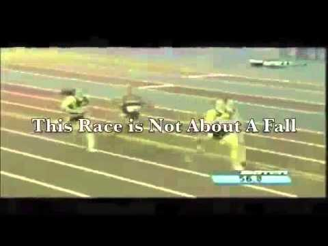 Christian Athlete Takes a Fall But WATCH!   Inspirational Video