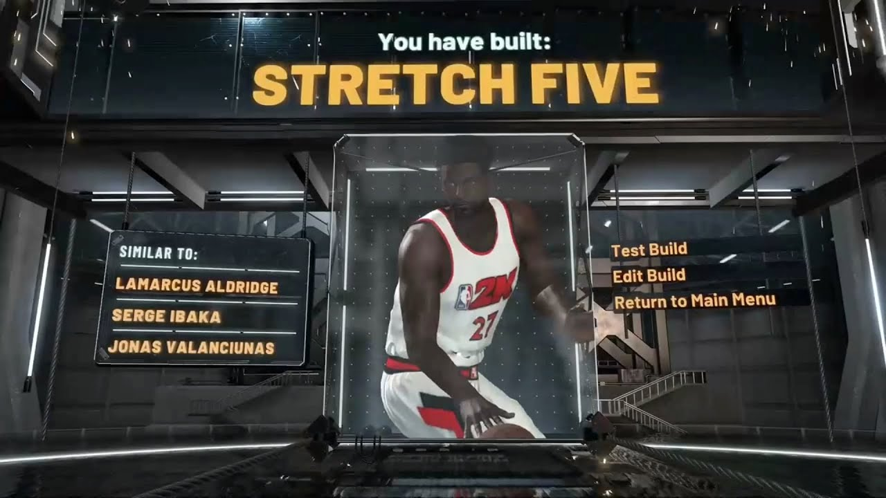Best PURE STRETCH FIVE in NBA2k20!! (Limited badges)