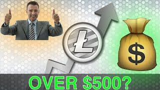Will Litecoin Go OVER $500 In 2018!? (Technical Analysis Price Prediction)