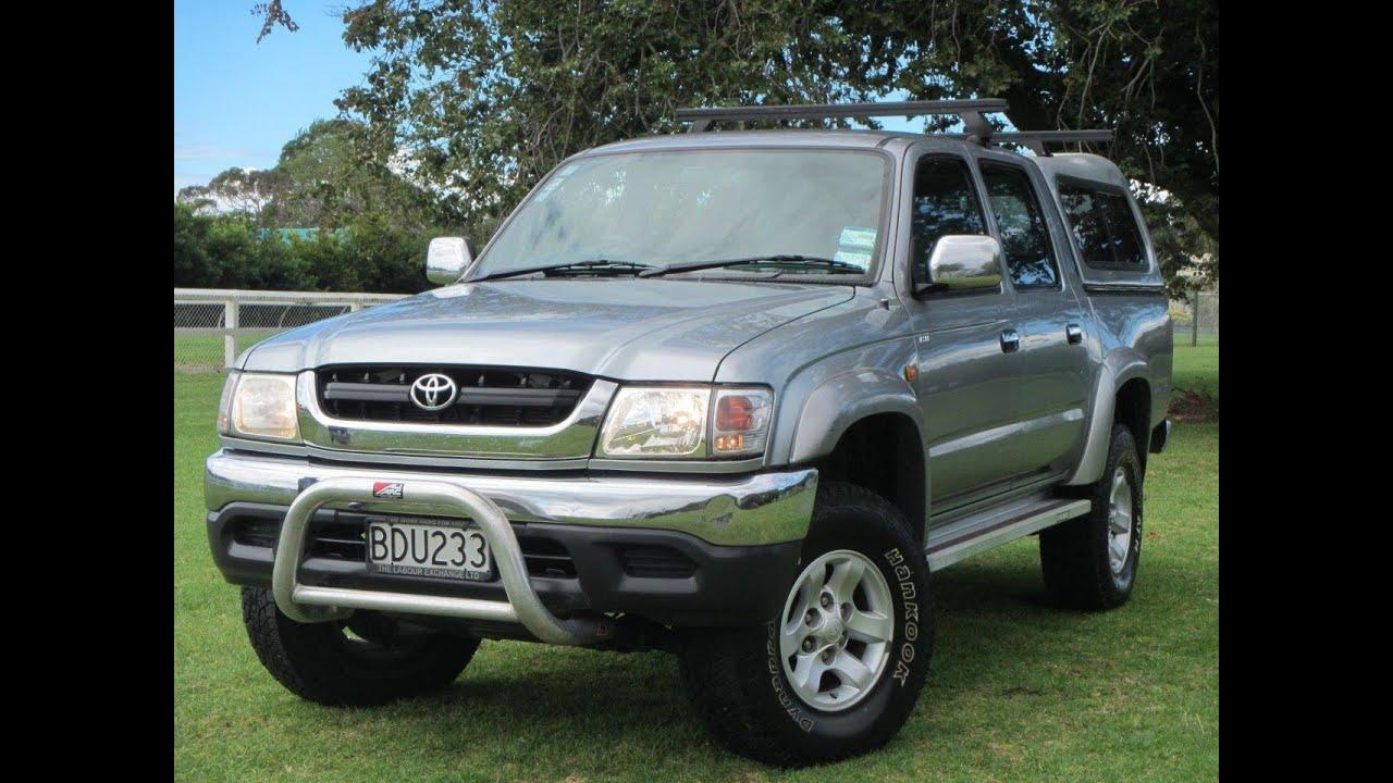 Kekurangan Toyota Hilux 2003 Spesifikasi