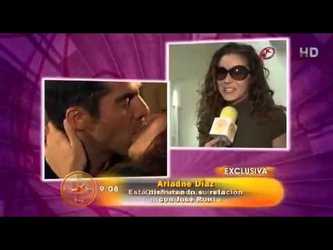 CONFIRMADO! noviazgo entre Ariadne Diaz y Jose Ron - YouTube