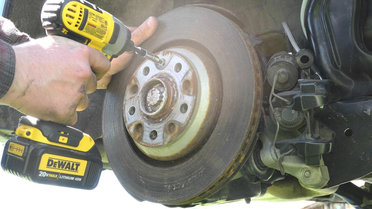 How-To: Change the MK7 Golf R Rear-Brakes w/ Electronic Parking Brake