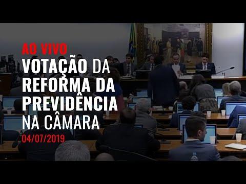 AO VIVO | Votação da reforma da Previdência na Câmara