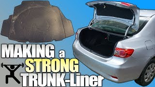 STRONGER Trunk For Bigger BASS!!! Easy DIY Car Audio Install: How To REPLACE Floor Liner & Carpet