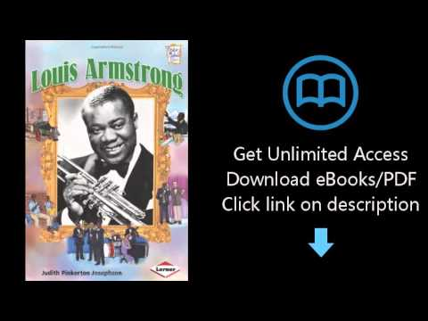 Download Louis Armstrong (History Maker Bios (Lerner)) PDF