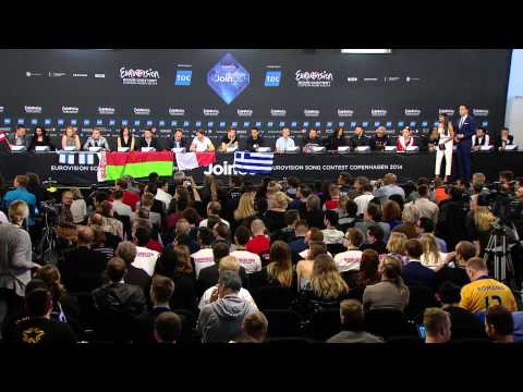ESCKAZ in Copenhagen: Second semifinal finalists press-conference