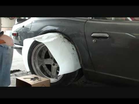 1972 Datsun 260 Z S C C A How To Install Quot Fender Flares