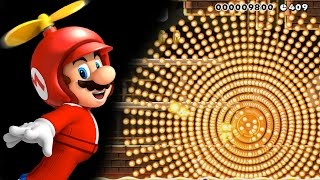 super Mario Maker - Fun Level 53: To Spinfinity, and Beyond! 1080p60