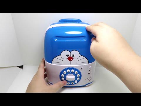 Doraemon Electronic Money Bank Luggage Saving Box With Music For Kids