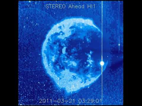 Soho Telesope - Planet X- Ethereal planet/sun appears in the Heavens