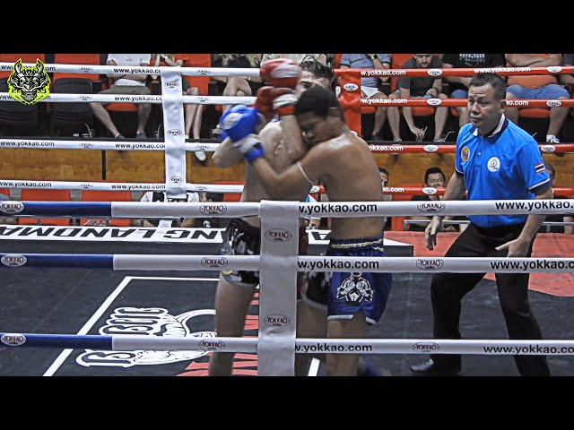Jordan Emerald Muay Thai gym vs Petchkrabi Sor Sakchai