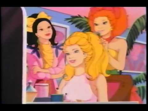 Barbie and the Rockers (1987 VHS original)