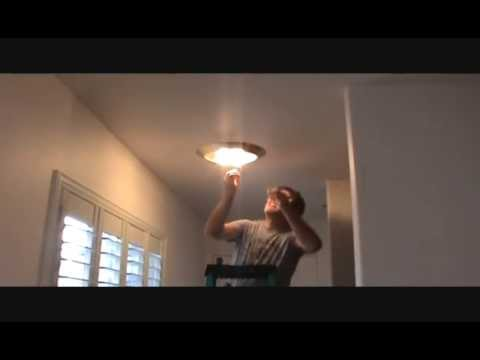 How to remove a light fixture youtube how to remove a light fixture aloadofball Image collections