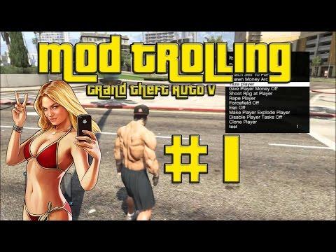 """GTA 5 Mod Trolling #1 """"Testing Menu"""""""