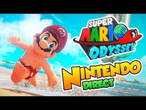 ¡Mario Odyssey va a ser ENORME! - Videoreacción Nintendo Direct Sept. 2017