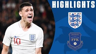 England U21 2-0 Kosovo U21| Foden Brace Earns Young Lions Win! | Official Highlights