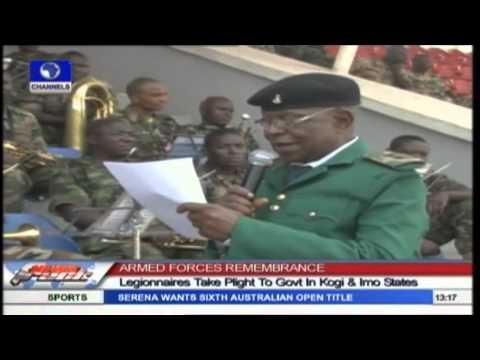 Legionnaires Take Plight To Kogi And Imo State Governemnts