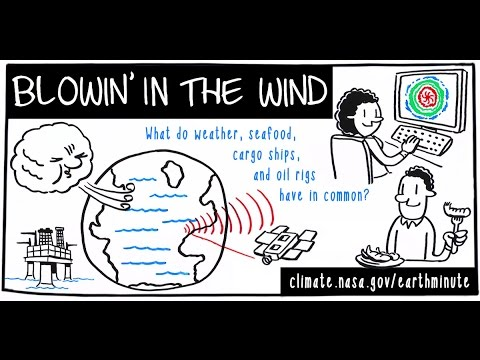 NASA's Earth Minute: Blowin' in the Wind